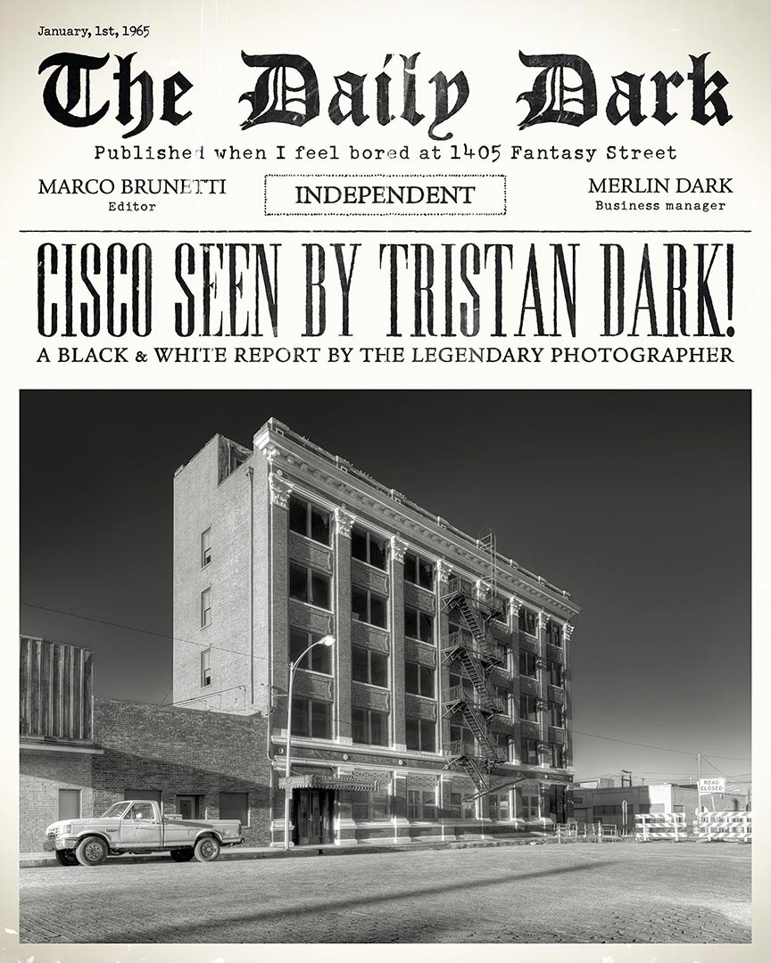 Tristan Dark Cisco Newspapers